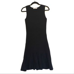 [ZARA] Sleeveless crew neck knit maxi dress M